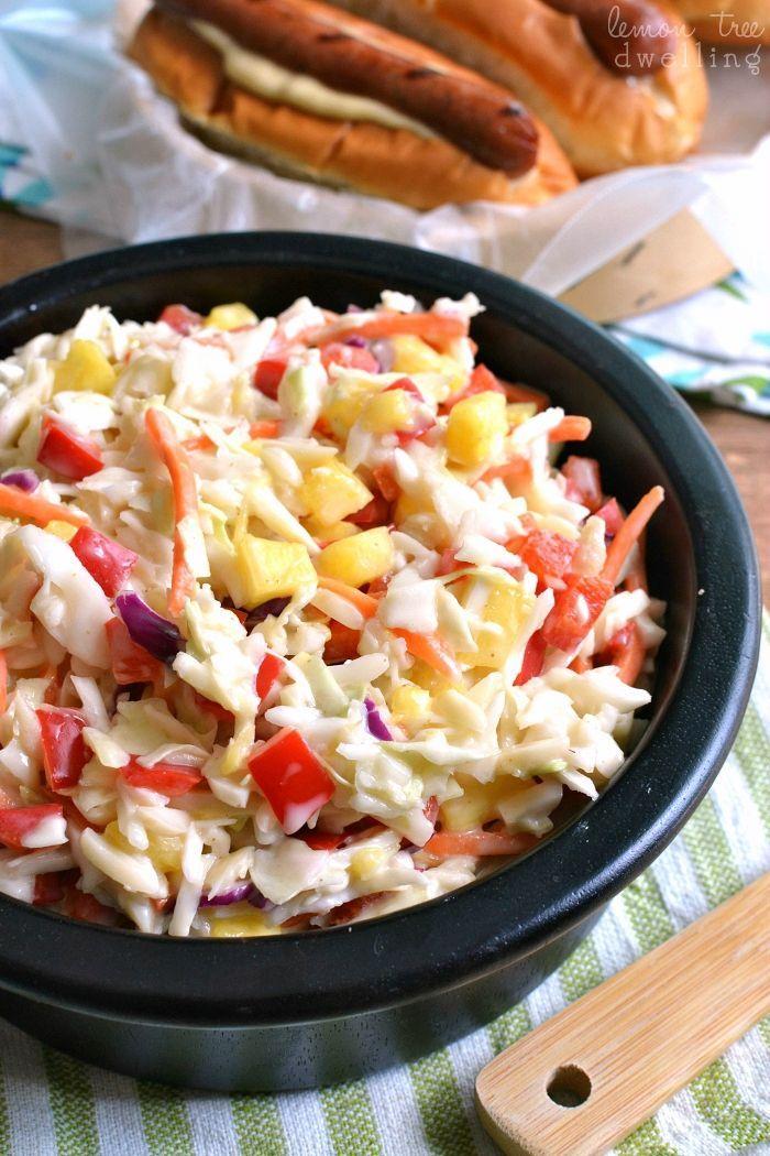 Easy hawaiian coleslaw recipe