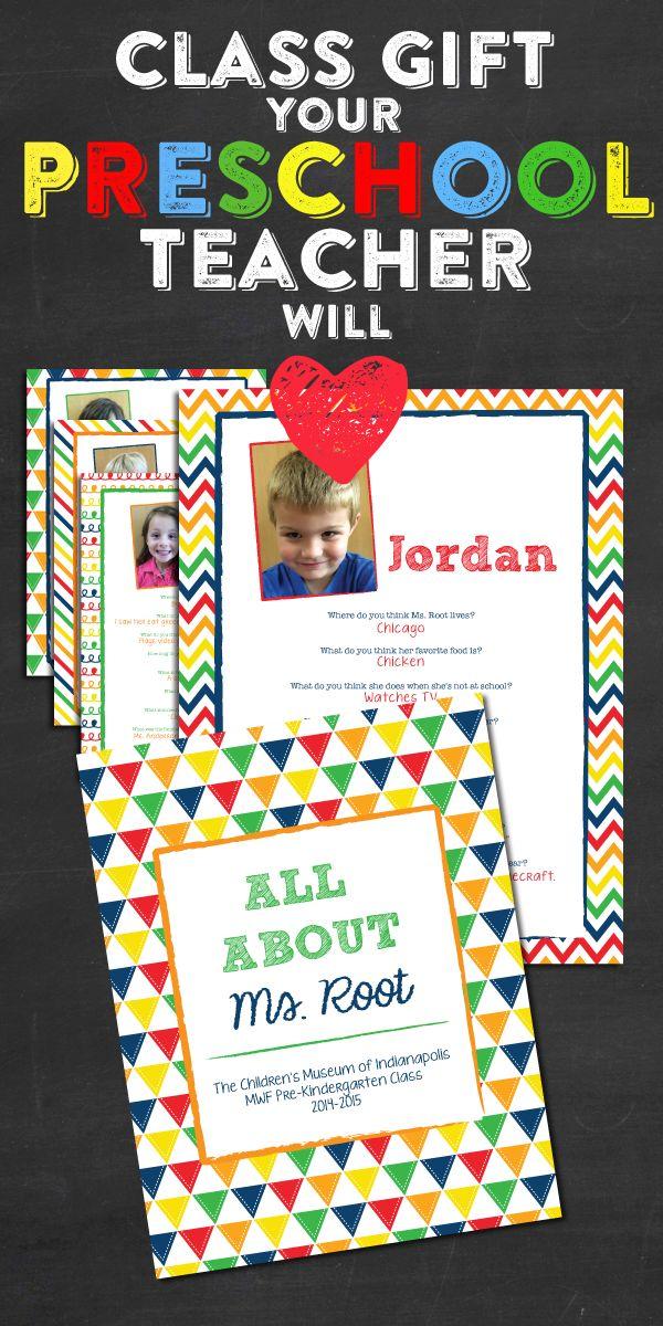 15 DIY teacher Christmas gifts |Preschool Teacher Gifts Books