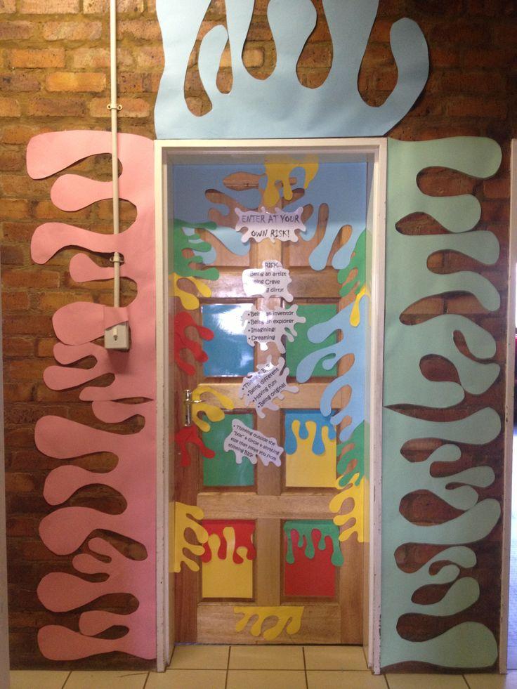 My 2014 New Art Class Door
