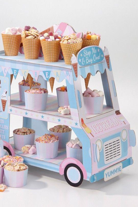 Party Eiswagen als Deko von Blueboxtree
