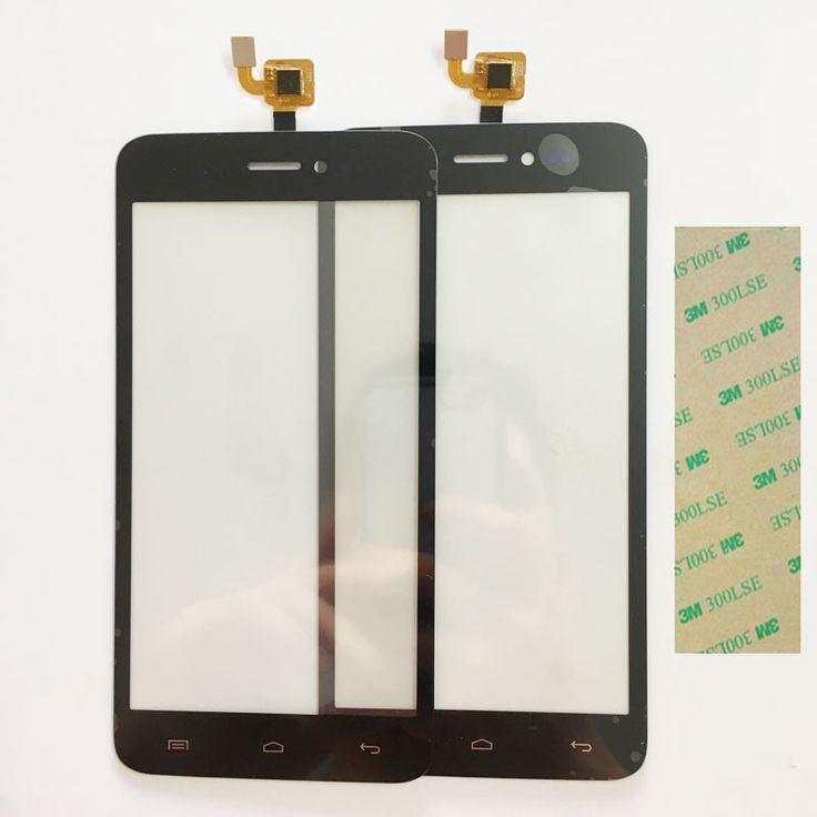 Nouveau Testé Écran Tactile Pour Explay Rio Jouer Écran Tactile Capteur Digitizer Avant GlassTouch Panneau ReplacementBlack Couleur + 3 M Bande