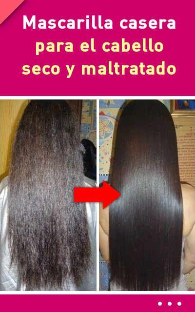 Mascarilla casera para el cabello seco y maltratado #mascarilla #casera #cabello #pelo #seco #maltratado
