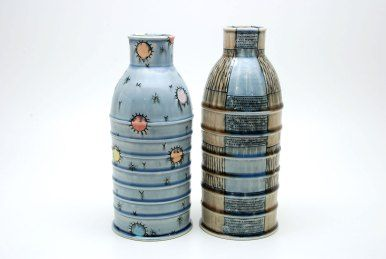 "Doug Peltzman, ""Bottle Vases"""