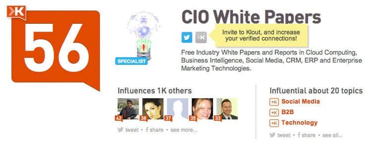 Free Industry White Papers and Reports in Cloud Computing, Business Intelligence, Social Media, CRM, ERP and Enterprise Marketing Technologies.