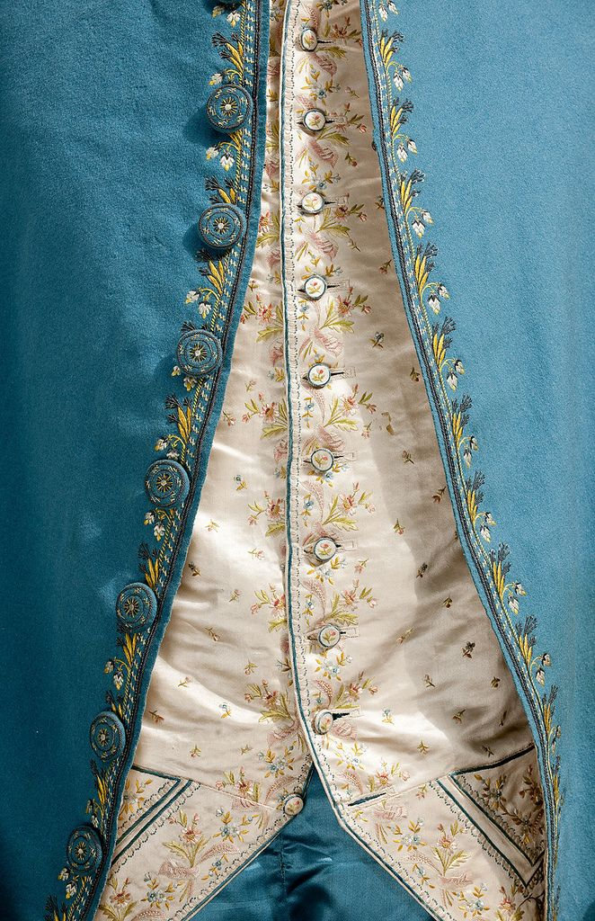 18th century suit from the Amsterdam Museum.