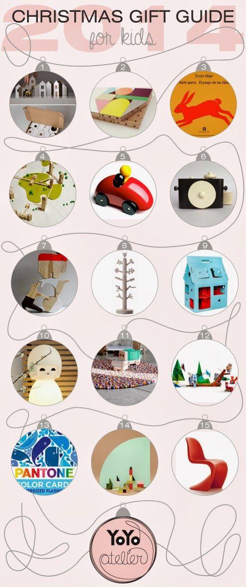 La lista di Natale 2014 per bambini di YoYo atelier