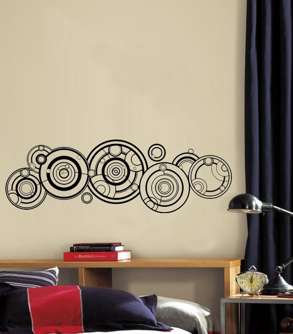majestic dr who tardis door decal. Doctor Who Gallifreyan Wall Decal  24 99 via Etsy 121 best Bathroom images on Pinterest who tardis