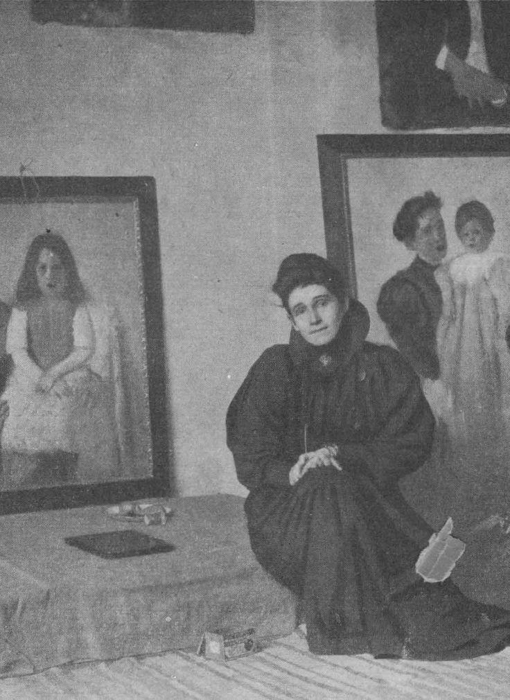 Olga Boznanska (Polish Painter, 1865-1940) Impressionism