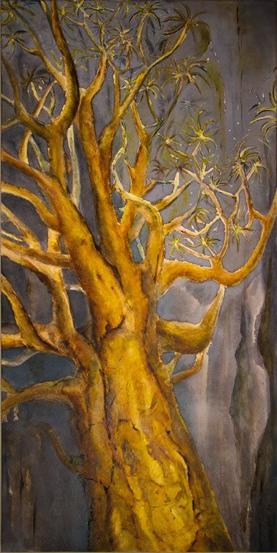 """""""Quiver Tree"""" by Melanie Meyer from her Emergence Art Gallery In Cape Town"""