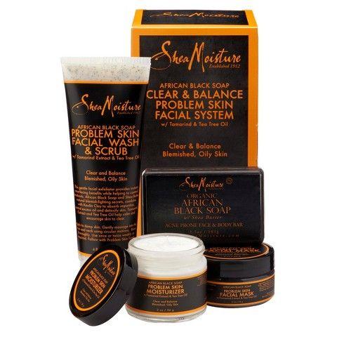 SheaMoisture African Black Soap Acne Care Kit