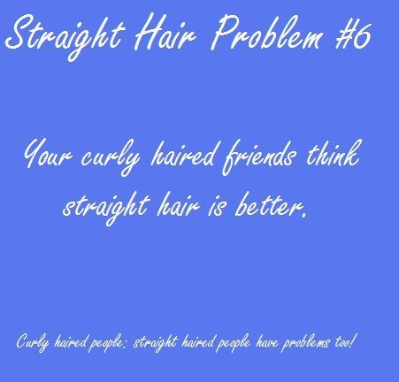Straight Hair Problems (http://pinterest.com/thenailguru/straight-hair-problems/)