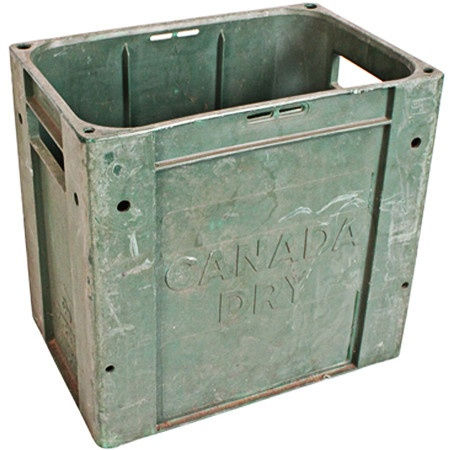 I pinned this Vintage Canada Dry Crate from the Vibrant Vintage event at Joss and Main!