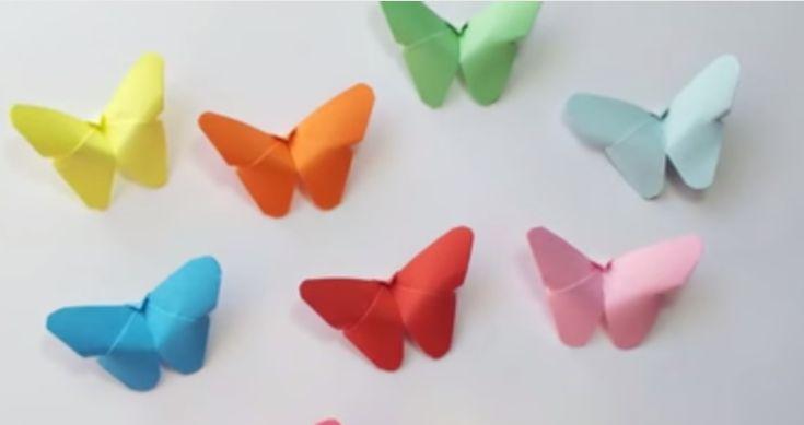 Jednoduchý video návod na krásné motýlky a skvělé nápady, jak je využít jako dekoraci!