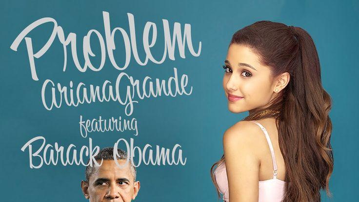 Barack Obama Sings 'Problem' by Ariana Grande