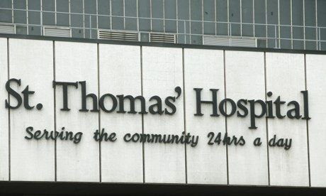 It was a death 'managed with such ­gentleness and sensitivity by the staff' of St Thomas' Hospital, London. Photograph: Frank Baron for the ...