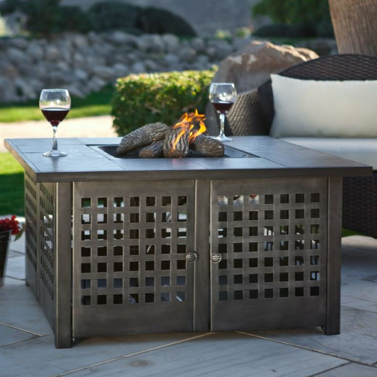 Outdoor Gas Fire Pit for the Patio