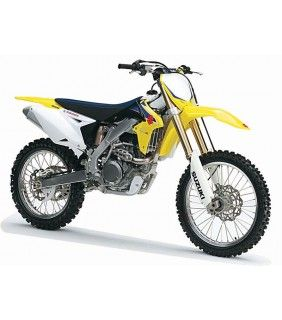 Suzuki Dirt Bike Motorcycle Toy Model.