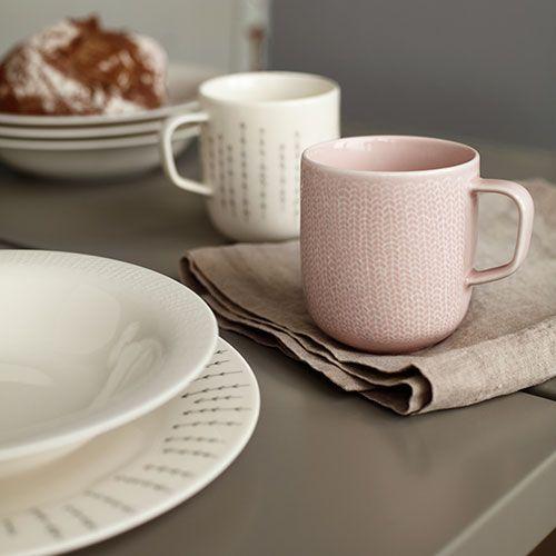 iittala Sarjaton Letti Old Rose Mug - $18.00
