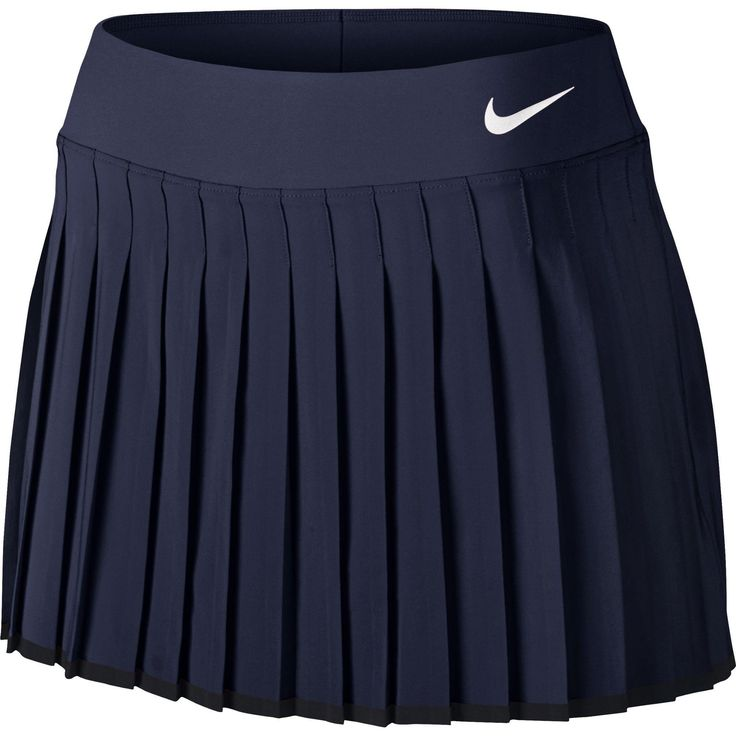 Nike Womens Victory Tennis Skirt [Regular/Long] - Navy - Tennisnuts.com