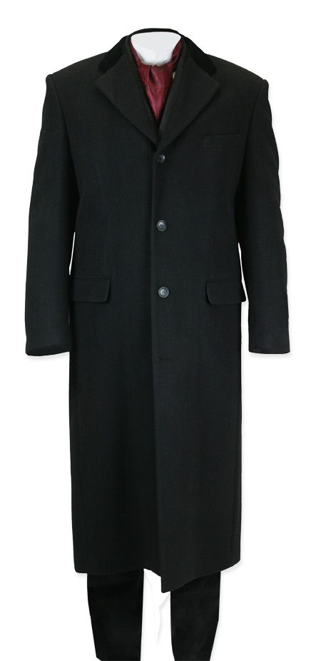 Winthrop Topcoat - Black