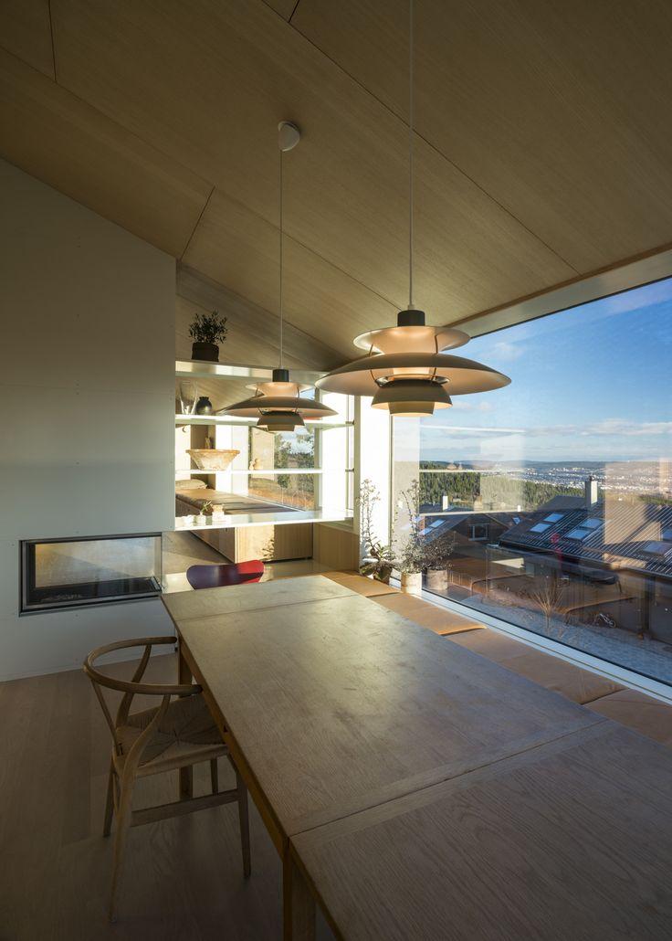 House Linnebo / Schjelderup Trondahl Arkitekter U2013 Nowoczesna STODOŁA |  Wnętrza U0026 DESIGN | Projekty DOMÓW. ArchitekturEinfamilienhäuserHaus ...