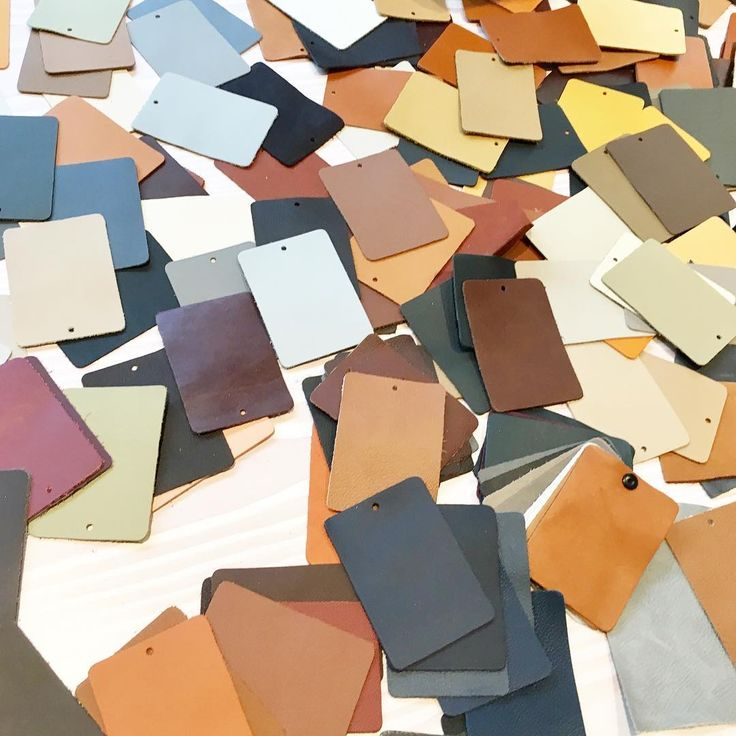 """Working on a """"Note"""" collection for @sorensenleather"""