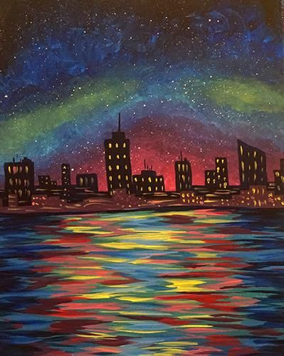Paint Nite Boston | Bertucci's (Cambridge Alewife T) 8/5/15