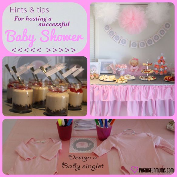 Hints and tips for a baby shower