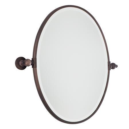 Oval Tilt Bathroom Mirror