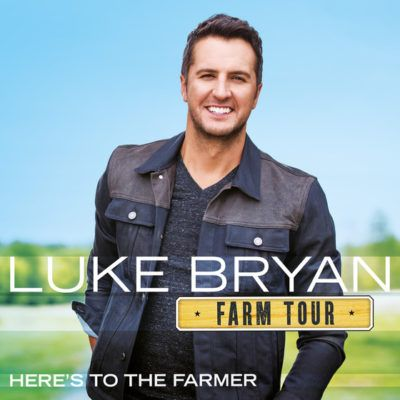 "Luke Bryan's Farm Tour EP, ""Farm Tour…Here's To The Farmer"" Coming This Fall"