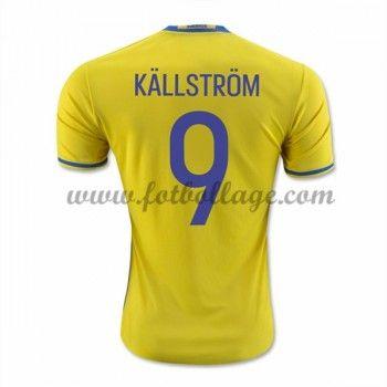Sverige Landslagströja 2016 Kallstrom 9 Hemma Tröjor