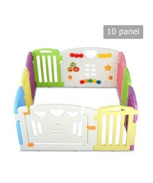 Interactive Baby Playpen - 10 Panels
