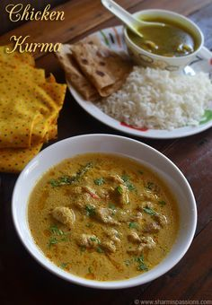 I love ammas chicken kurma very much as it pairs up well for idli, dosa , rice or chapathi  or even for biryani . The kurma is mild spicy...