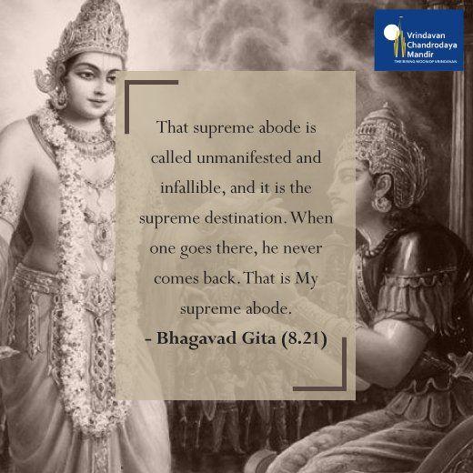 Teachings from the #BhagavadGita! #LordKrishna #HareKrishnaHareRama