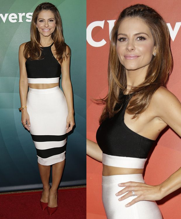 Maria Menounos at NBCUniversal's 2014 Summer TCA Press Tour at The Beverly Hilton in Beverly Hills on July 14, 2014