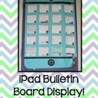 Use the App templates in this file to create an iPad display for your bulletin board or classroom door!  Contains templates for grades K-6, plus a ...