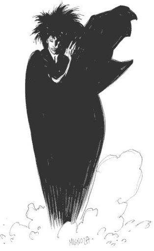 Sandman by Mike Mignola