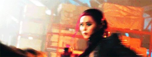 Fan Bing Bing as Blink, X-Men Days of Future Past.