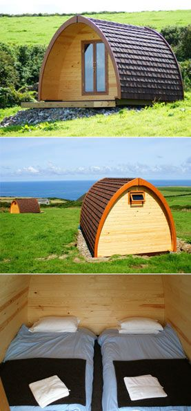 Tregardock Pods - Classy Camping in Cornwall - £35 or £45 - Must do!!!