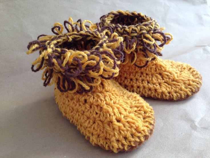 botitas de lana / wool booties