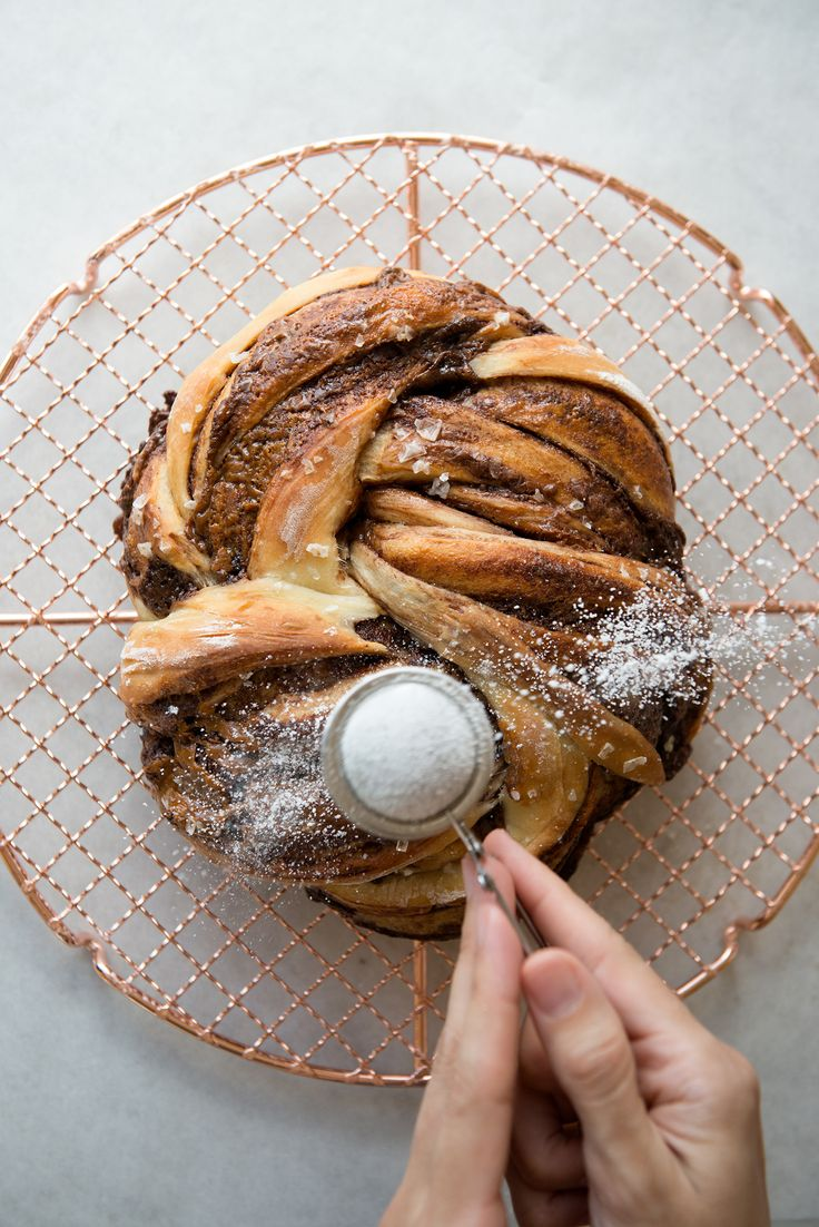 Salted Chocolate Caramel Knot from Artisan Sourdough Made Simple | Now, Forager | Teresa Floyd