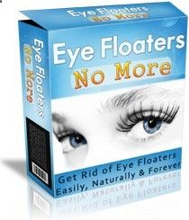 Eye Floaters No More.™ Are you tired of seeing oddly-shaped objects in your vision? Especially when looking at bright lights such as a blue sky? Eye Floaters are caused by degenerative changes of the vitreous humour - the clear gel that fills the eyeball. www.eyefloatersno... $37