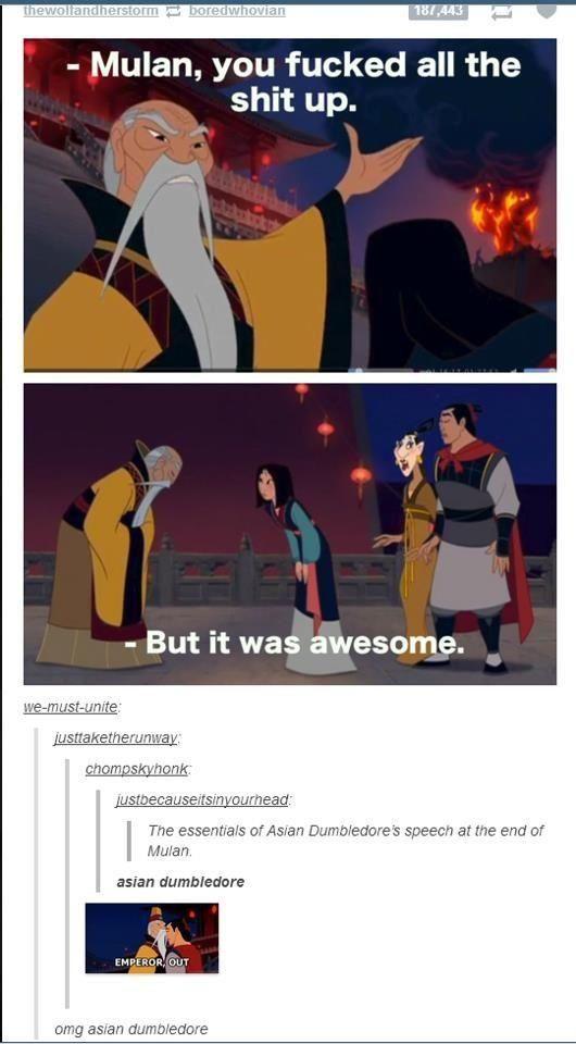 Asian Dumbledore, I'm dying