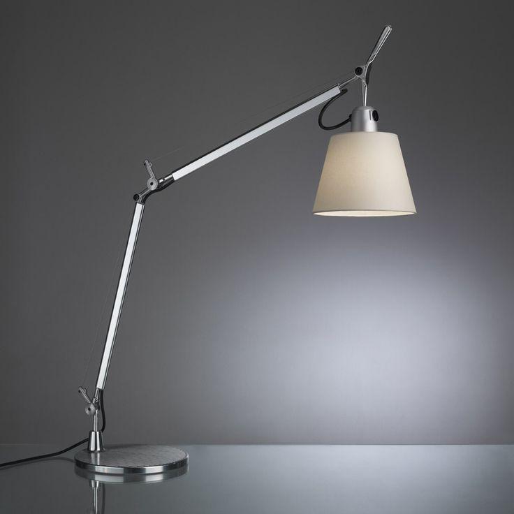 Schön The Tolomeo Basculante Tavolo Table Light With A Silk Satin Shade