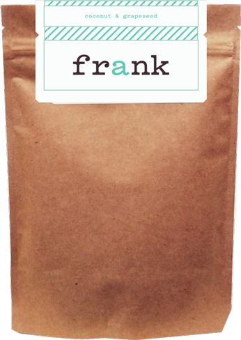 Frank Body Scrub - totally adorable #packaging #design