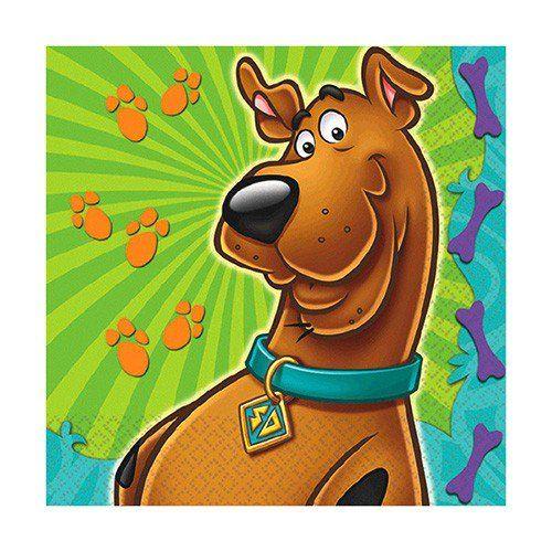 Scooby Doo Beverage Napkins (16 Pack)