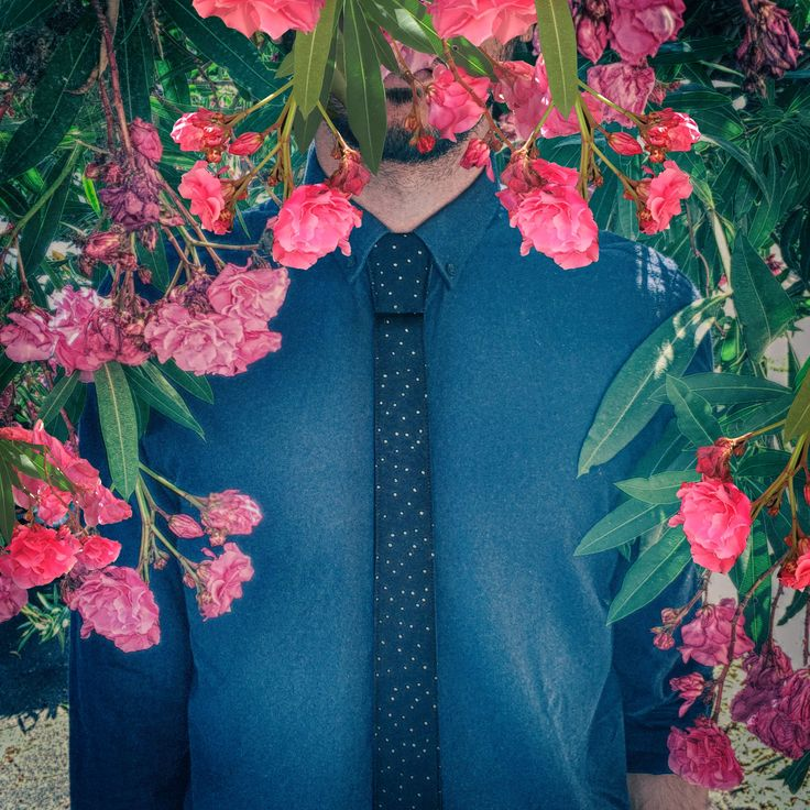 Spring breeze_1  #modular #accessory #neckwear #madeinitaly #noknots #tie #cravatta #man #style #double #side #eclectic #eclepti
