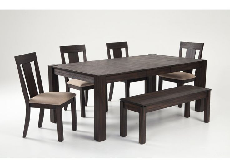 "Summit 42"" x 78"" 6 Piece Dining Set 