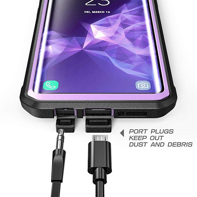 new style 8085d bf476 Supcase Unicorn Beetle Pro Rugged Case for Samsung Galaxy S9+ | Case ...