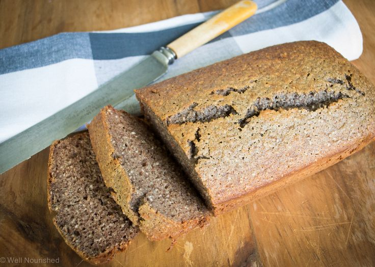 This delicious banana bread is great for a healthy breakfast.  It's wheat free, nut free, refined sugar free with options for grain-free and dairy-free. Great for school lunch boxes and snacks too.